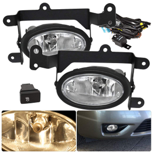 Front Driving Fog Lights Fog Lamps For Honda Civic 06-08 2 Door